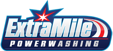 Extra Mile Powerwashing Logo in Bunker Hill, WV