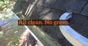 Dirty gutters made clean by Extra Mile Powerwashing in Martinsburg, WV, your pressure washing experts