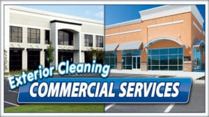 Commercial Cleaning by Extra Mile Powerwashing in Bunker Hill, WV
