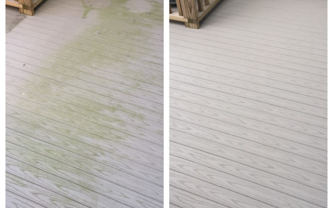 Deck Cleaning Done the Right Way